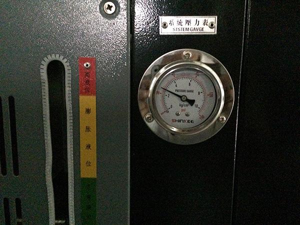高温油温机喷油排气操作方法