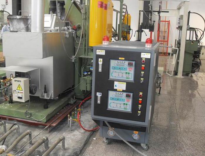 锌合金压铸模温机——应用案例