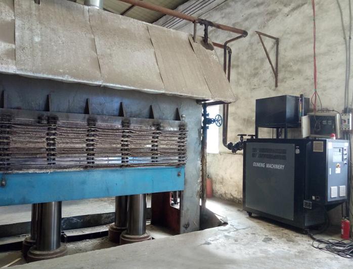 多层热压机加热油温机——应用案例