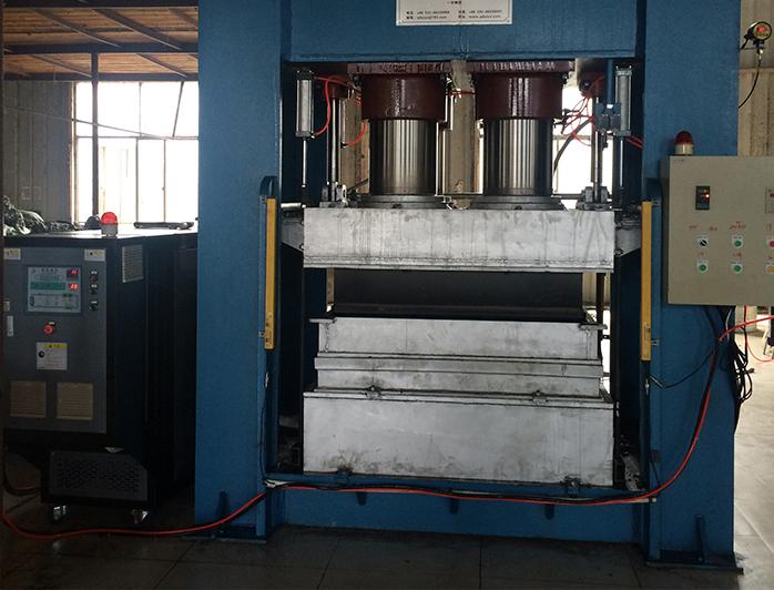 热压成型机加热模温机——应用案例