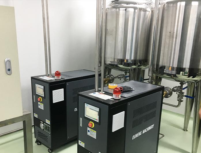 提取罐加热控温设备——应用案例