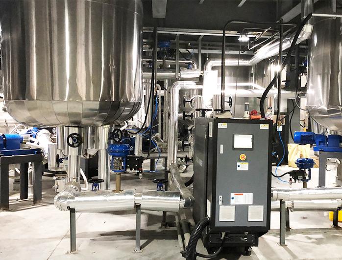 树脂反应釜加热设备——应用案例