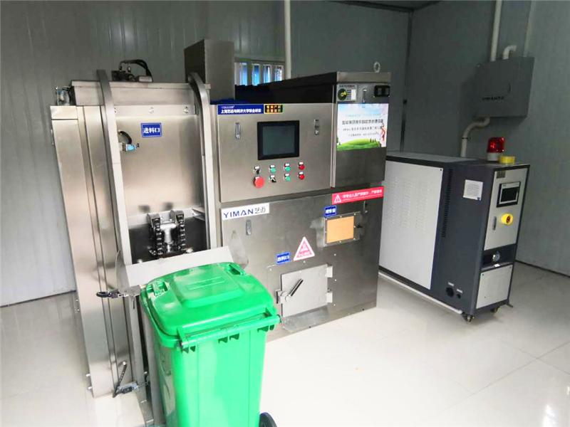 厨余垃圾资源化处理导热油加热油温机——应用案例