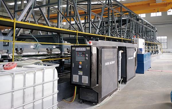 风电叶片成型模温机,智能水加热设备助力绿色低碳发展