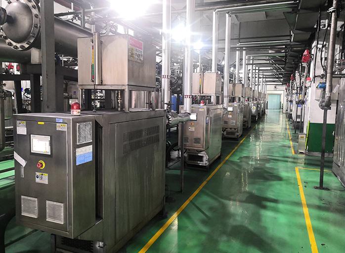 锂电三元材料干燥不锈钢油温机——应用案例